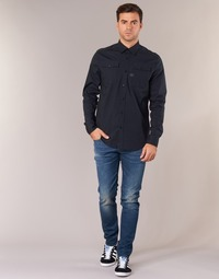 Vêtements Homme Jeans slim G-Star Raw 3301 SLIM Bleu