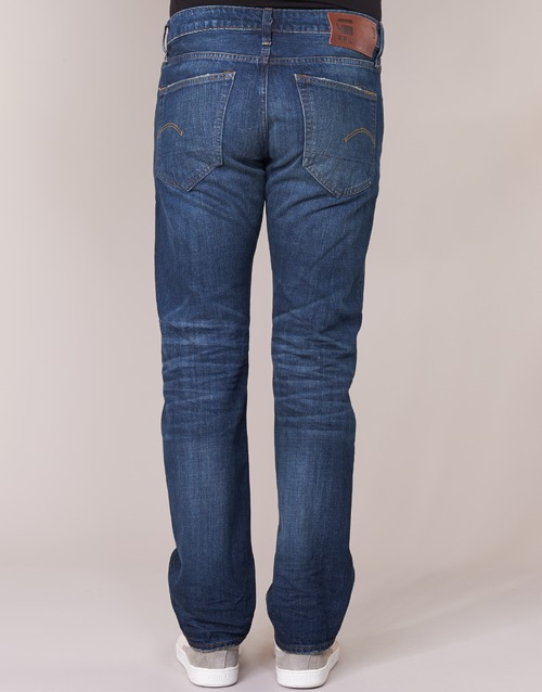 G Jeans 3301 Higa star Droit Homme Raw Straight e9HYWIDE2