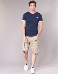 Vêtements Homme Shorts / Bermudas G-Star Raw ROVIC ZIP LOOSE 1/2 Beige