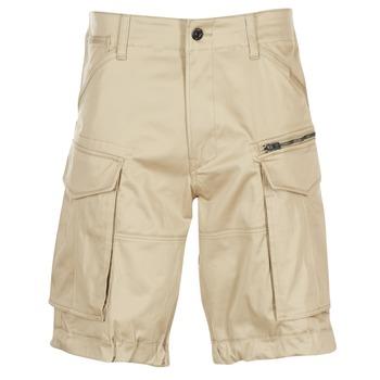 Vêtements Homme Shorts / Bermudas G-Star Raw ROVIC ZIP LOOSE 1/2 Beige