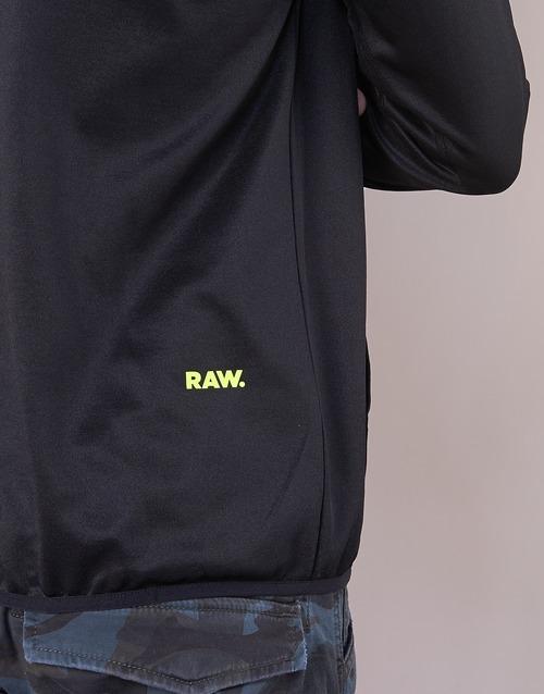 Slim Raw Strett G Sw Sweats Zip Thru Noir star Homme Hooded L s rxBoCdeW
