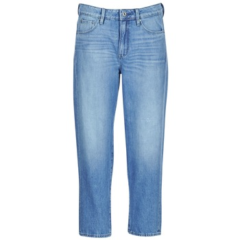 Vêtements Femme Jeans boyfriend G-Star Raw 3301 HIGH BOYFRIEND 7/8 WMN Lt aged small destroy