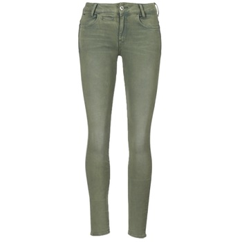 Vêtements Femme Pantalons 5 poches G-Star Raw D-STAQ 5-PKT MID SKINNY COJ WMN Light Hunter