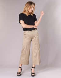 Vêtements Femme Chinos / Carrots G-Star Raw BRONSON HIGH LOOSE CHINO 7/8 WMN Beige