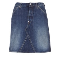 Vêtements Femme Jupes G-Star Raw 5622 CUSTOM A-LINE SKIRT Bleu