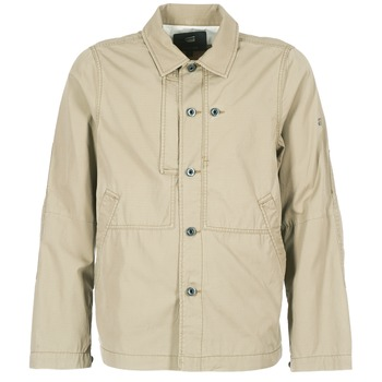 Vêtements Homme Blousons G-Star Raw RACKAM OVERSHIRT Beige