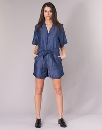 Vêtements Femme Combinaisons / Salopettes G-Star Raw BRONSON SHORT JUMPSUIT Bleu