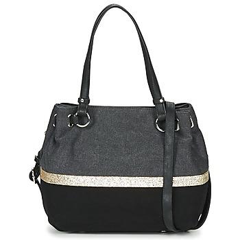 Sacs Femme Sacs porté épaule Fuchsia GAUTIER 6 Noir / Gris