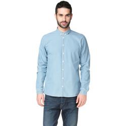 Vêtements Homme Chemises manches longues Minimum RAMON Bleu