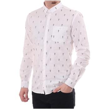 Vêtements Homme Chemises manches longues Minimum FEROZ Blanc