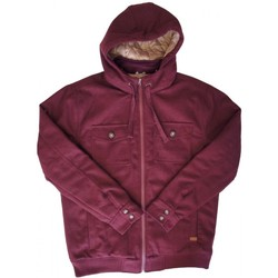 Vêtements Homme Blousons Nixon Veste  Captain Quilted - Oxblood Rouge