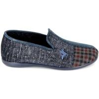Chaussures Homme Chaussons Boissy Pantoufle JH56257 Marine Bleu Foncé