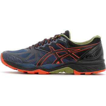 Chaussures Homme Baskets basses Asics Gel Fujitrabuco 6 Insignia Blue / Black / Red Clay
