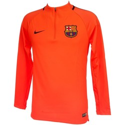 Vêtements Garçon Sweats Nike Barca sweat jr org Orange fluorescent