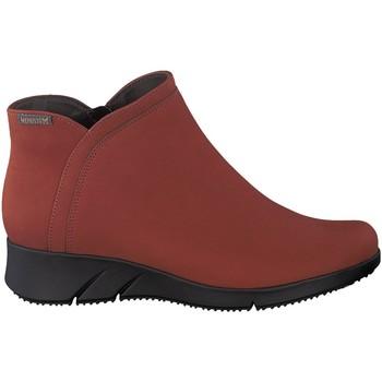 Chaussures Femme Boots Mephisto Boots MARGAUX brique Noir