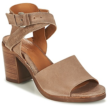 Chaussures Femme Sandales et Nu-pieds Shabbies SHS0180 HIGH REVERSED Taupe