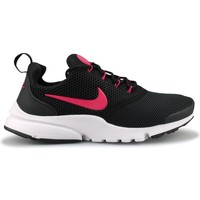 Chaussures Fille Baskets mode Nike Presto Fly Junior Noir Rose Noir/Rose