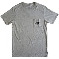 Vêtements Homme T-shirts manches courtes Nixon T-shirt Pylon - Heather Gray Gris