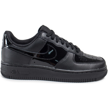 Chaussures Femme Baskets basses Nike Air Force 1 '07 W Vernis Patent Noir