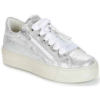 Chaussures Fille Baskets basses Primigi RAPATITE Argenté