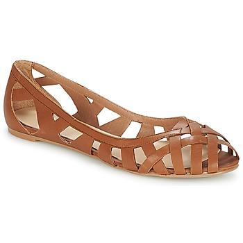 Chaussures Femme Sandales et Nu-pieds Jonak DERAY Cognac