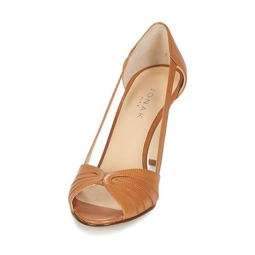 Sandales Jonak Nu Et Femme pieds Dagilo Cognac xrdCeoBW
