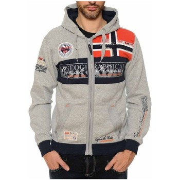 Vêtements Garçon Sweats Geographical Norway Sweat à capuche Enfant Flyer Gris