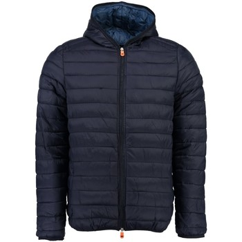 Vêtements Garçon Doudounes Geographical Norway Doudoune Enfant Duo Hood Marine