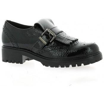 Chaussures Femme Mocassins Donna Più Mocassins cuir vernis Noir