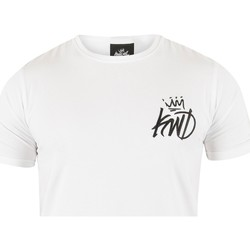 Vêtements Homme T-shirts manches courtes Kings Will Dream Homme Pyne Rose T-shirt, Blanc blanc