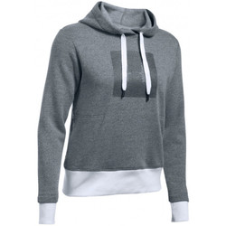 Vêtements Femme Sweats Under Armour Sweat à capuche  Threadborne Fleece Graphic - Ref. 1298592-008 Gris