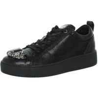 Chaussures Homme Baskets basses Guess Baskets  ref_guess42316-black Noir
