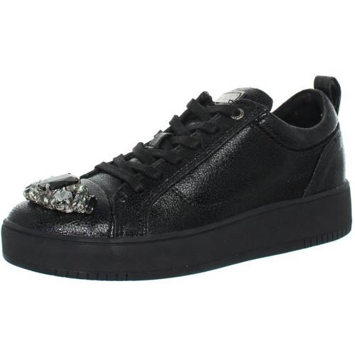 Chaussures Homme Baskets basses Guess Baskets  ref_guess42316-black Noir