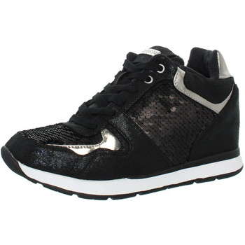 CHAUSSURES GUESS BASKETS REF_GUESS42315-BLACK