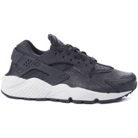 Chaussures Femme Baskets basses Nike BASKET  AIR HUARACHE RUN PREMIU NOIR
