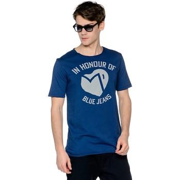 Vêtements Homme T-shirts manches courtes Meltin'pot ALEK Bleu