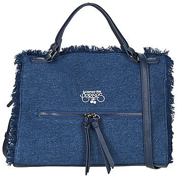 Sacs Femme Sacs porté main Le Temps des Cerises EMILY 2 Bleu