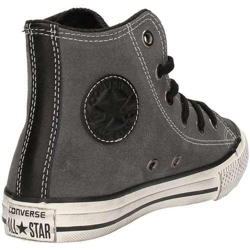 Chaussures Garçon Baskets montantes Converse 658983C Sneakers Garçon Noir Noir