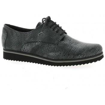 Chaussures Femme Derbies Elizabeth Stuart Derby cuir python Noir