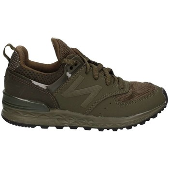 Chaussures Fille Baskets basses New Balance KFL574SP Chaussures de sport Fille Olive Olive