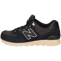Chaussures Homme Baskets basses New Balance ML574PKP Basket Homme Black Black