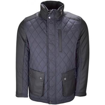 Blouson Gant veste semi matelassée bleu marine pour homme