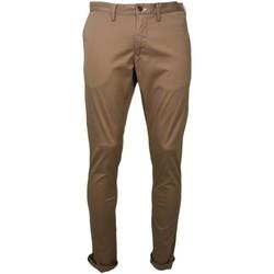 Vêtements Homme Pantalons 5 poches Gant Chino  marron sable pour homme Marron