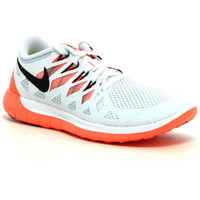 Chaussures Femme Running / trail Nike Wmns Free 5.0 White / Mango