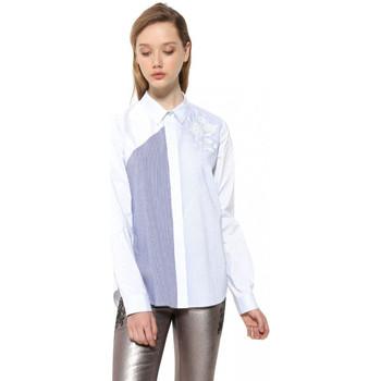 Vêtements Femme Chemises / Chemisiers Desigual Chemise Ingun Bleu Ciel 17WWCW26 19