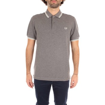 Vêtements Homme Polos manches courtes Fred Perry M3600 T-shirt Homme Grey Grey