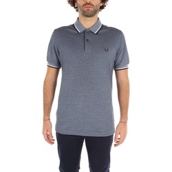 Vêtements Homme Polos manches courtes Fred Perry M3600 T-shirt Homme light Blue light Blue