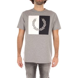 Vêtements Homme T-shirts manches courtes Fred Perry M2525 T-shirt Homme grey grey