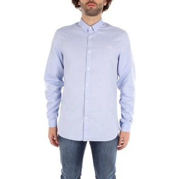 Vêtements Homme Chemises manches longues Fred Perry SM1603 Chemises Homme heavenly heavenly