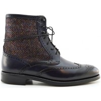 Chaussures Femme Boots George's 1474 tweed Multicolore